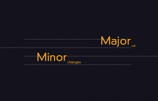 How minor changes can improve the user experience.
